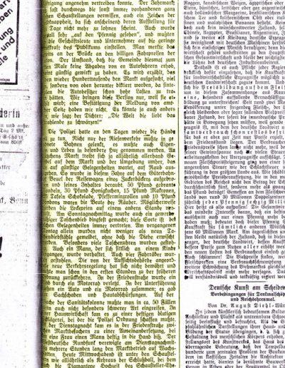 Pressearchiv 1932