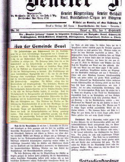 Pressearchiv 1935